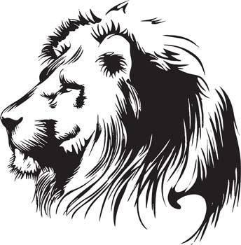 free vector Lion 5