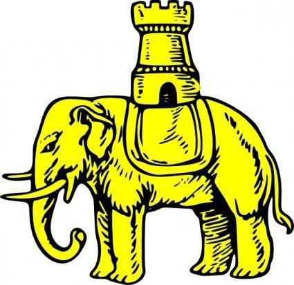 Elephant And Castle clip art