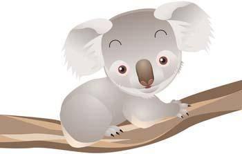 free vector Koala 2