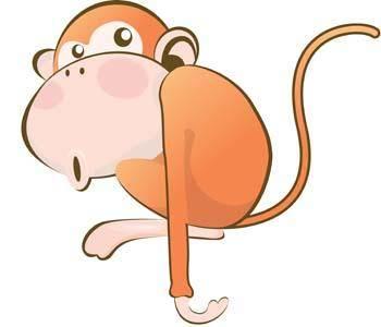 free vector Monkey 23