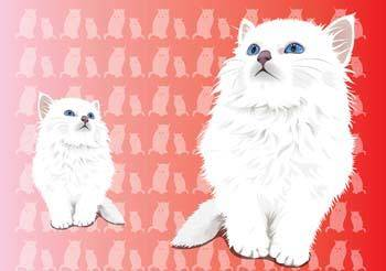 free vector Cat vector 20