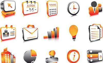 Business website icons 01 vector Free Vector / 4Vector