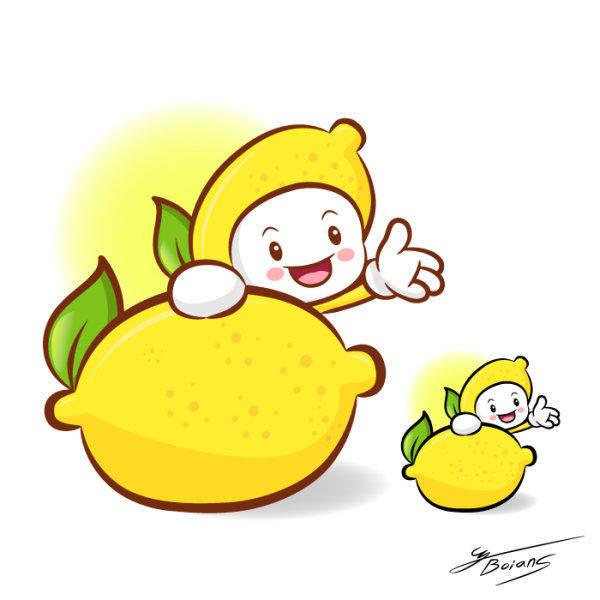 Love The Cartoon Super Fruit Vector 7 Love Vector
