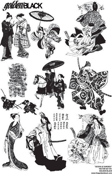 free vector Japanese Character Vector Japan Japanese Japanese Character Map