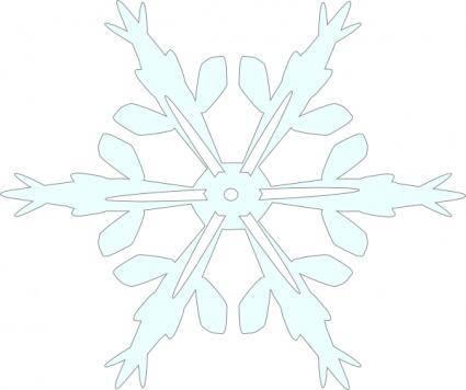 free vector Snowflake 5 clip art