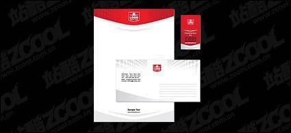 free vector Business cards, envelopes, letterheads