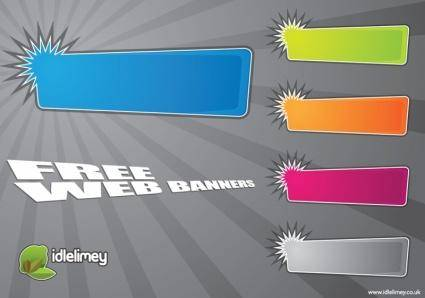 free vector Web Banners