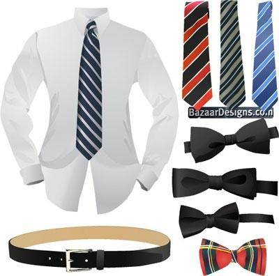 Set of business fashion