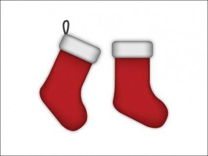 free vector Christmas Stockings