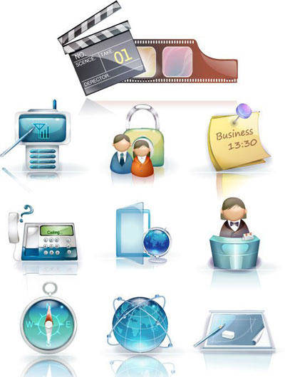 free vector Business Icons 2