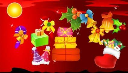 free vector Vector Christmas