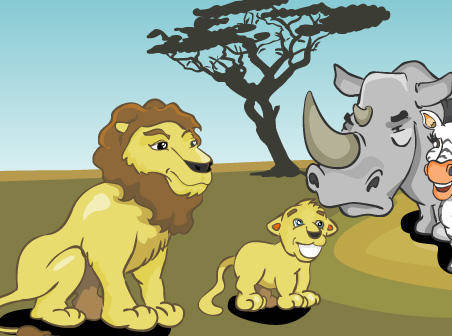free vector African animals free vector