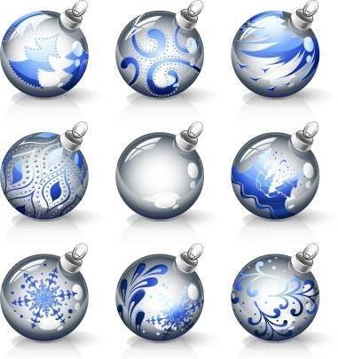 free vector Decorative Christmas Ball