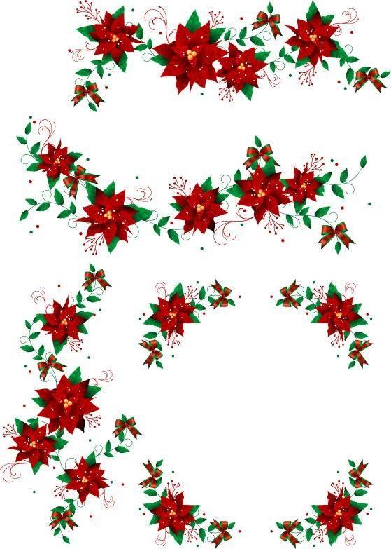 free vector Christmas Wreaths 2