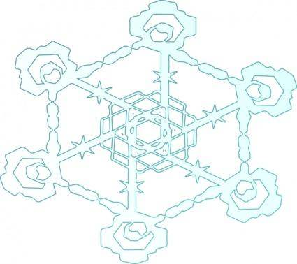 Snowflake 2 clip art