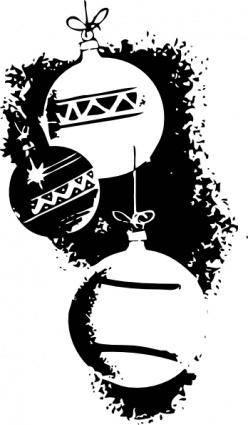 Ornaments clip art 128739