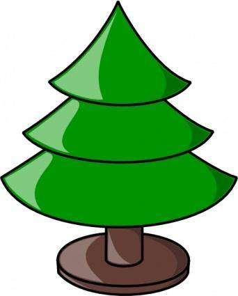 Tree With Stand clip art