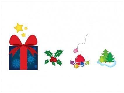 free vector Christmas Spirit Eliments