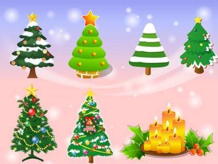 free vector Vector Christmas Tree