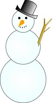 Another Snowman clip art
