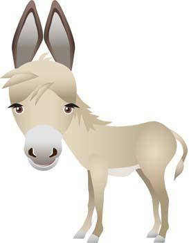 free vector Donkey 2