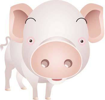 free vector Pig 44