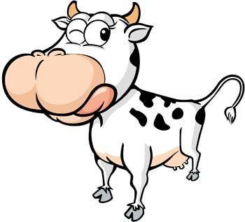 free vector Cow 17
