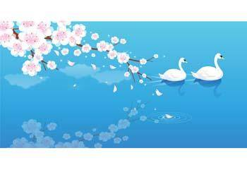 free vector Swan 3