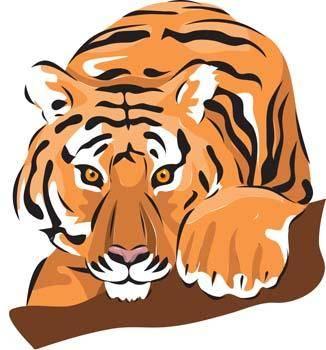 free vector Tiger 10