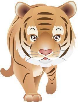 free vector Tiger 6