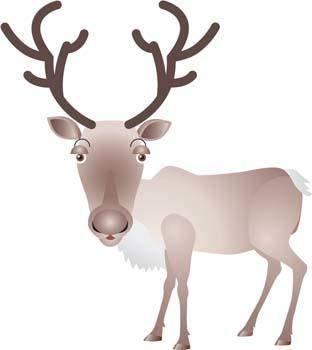 Deer vector 2
