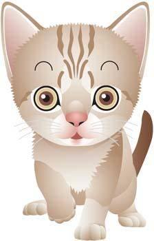 free vector Cat vector 82