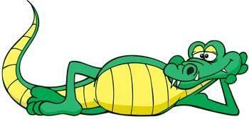 free vector Crocodile 4