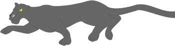 free vector Panther 5