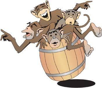 free vector Monkey 5