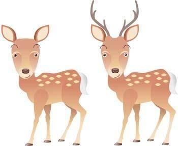 free vector Deer 5