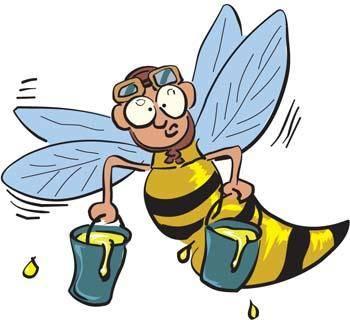 free vector Bee 13