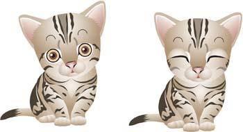 free vector Cat vector 56