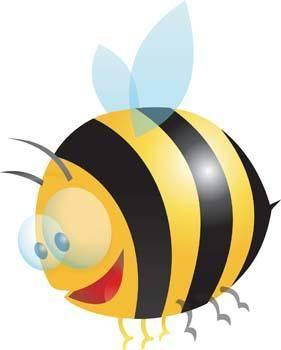 free vector Bee 8
