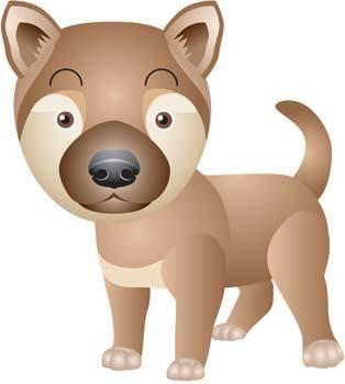 free vector Dog Vector 13