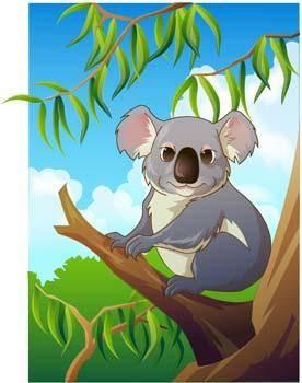 free vector Koala 4