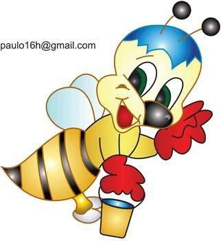 free vector Bee 5