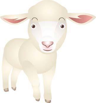 free vector Sheep vector 2