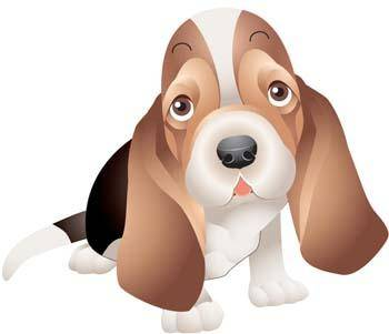 free vector Little Dog Vector 2