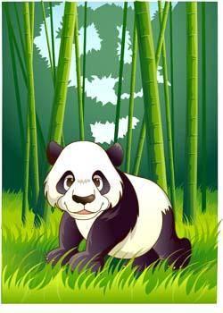 free vector Panda 3