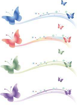 free vector Butterfly Vector 36