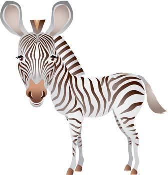 free vector Zebra 3