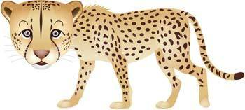 free vector Leopard 5
