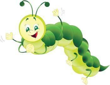 free vector Caterpillar 3