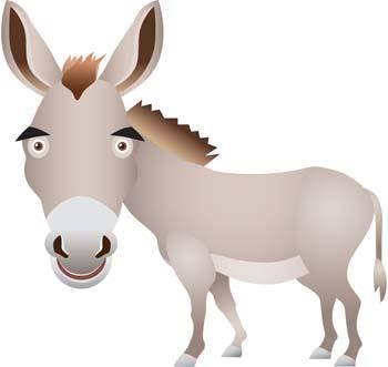 free vector Donkey 3